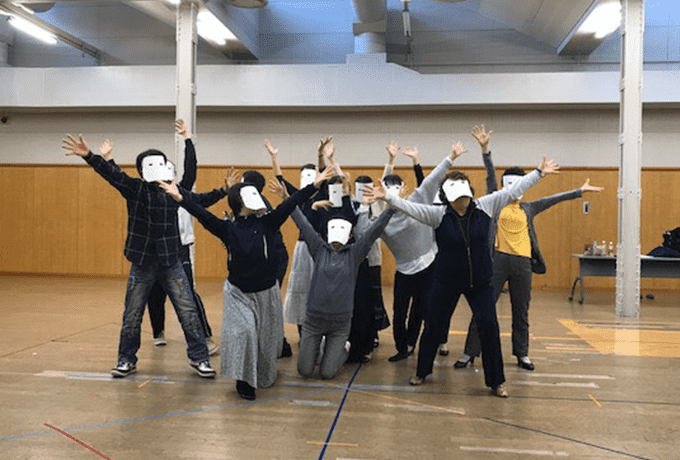 演技・舞台表現のワークショップ